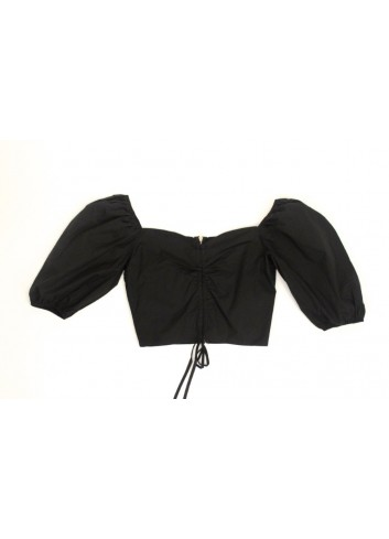 Bluza cropped tip corset