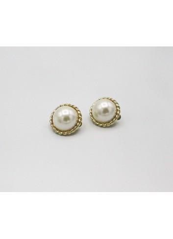 Cerceii vintage cu perla